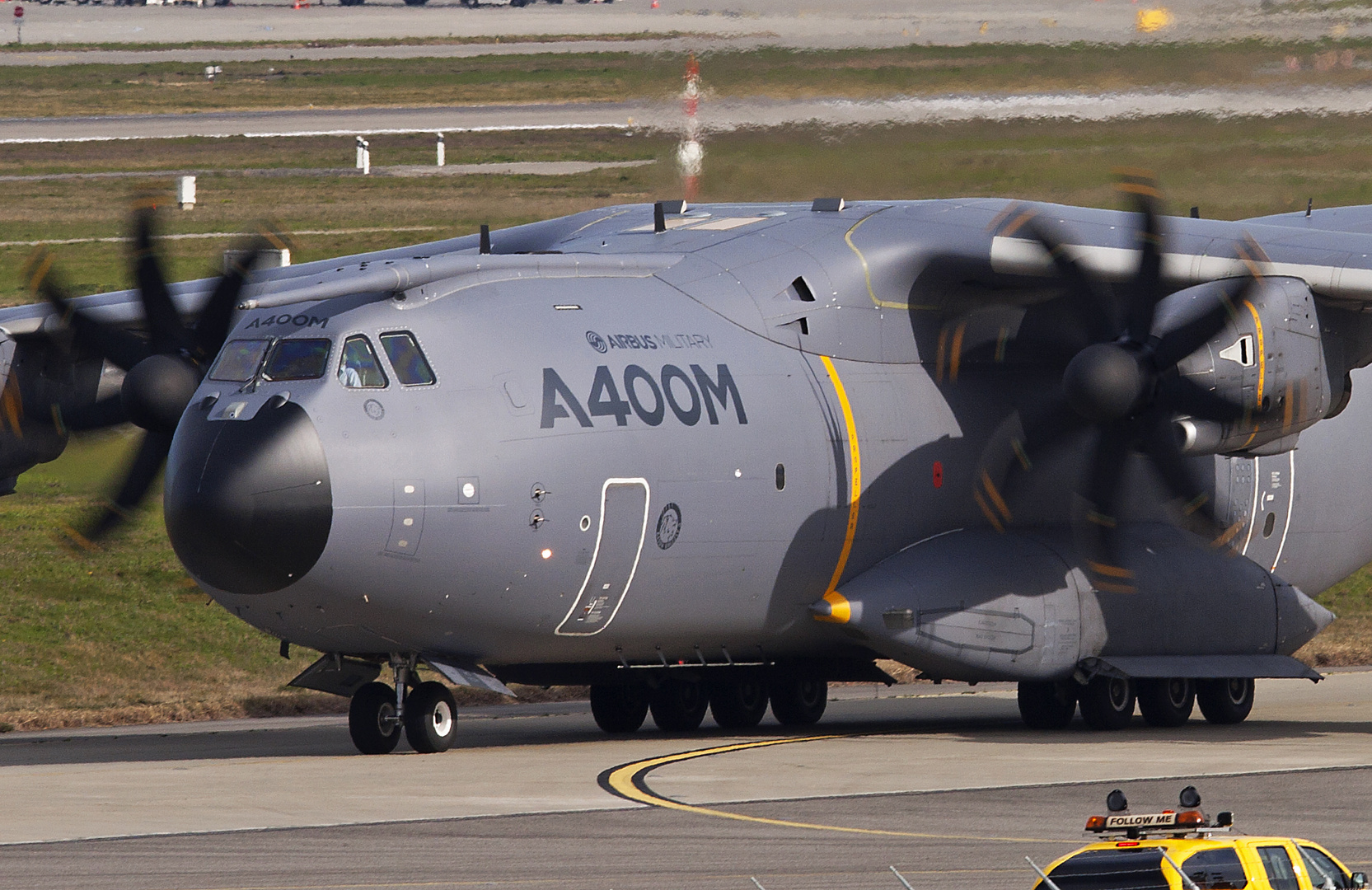 Airbus A400M Atlas Grizzly#5 during taxing