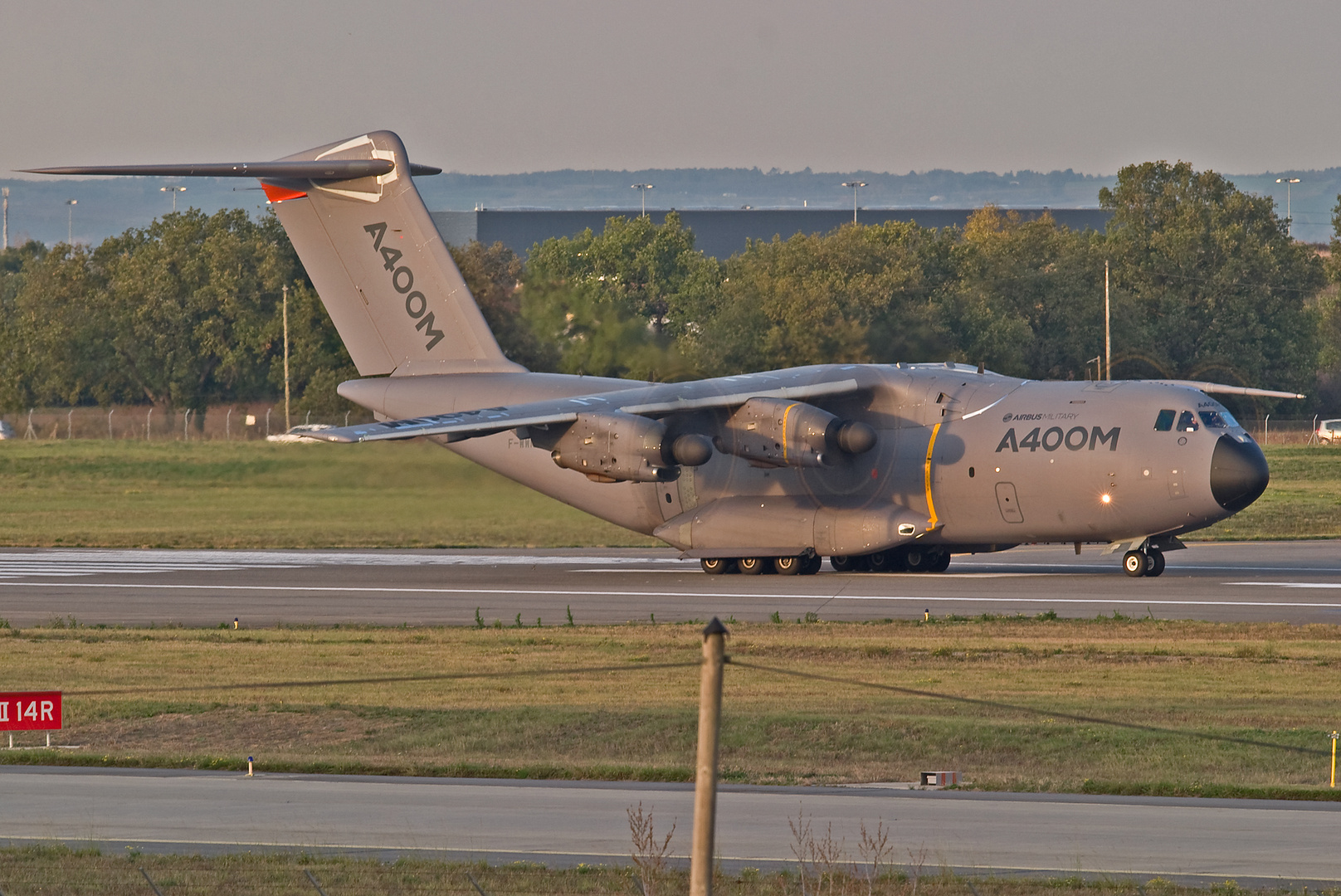 Airbus A400M FLIGHT-TEST Prototyp in TOULOUSE