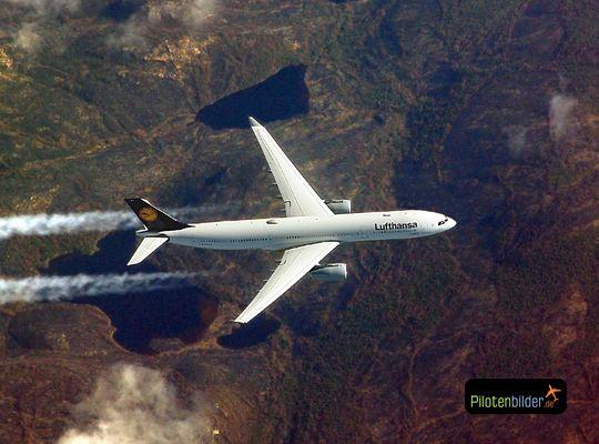Airbus over Canada