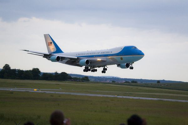 Airforce One in Dresden