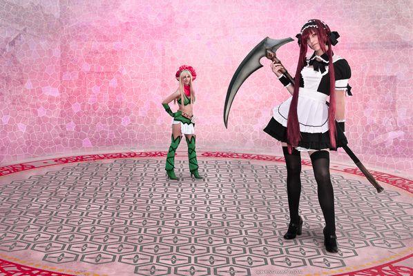 Airi vs Alleyne - Queen's Blade beginnt