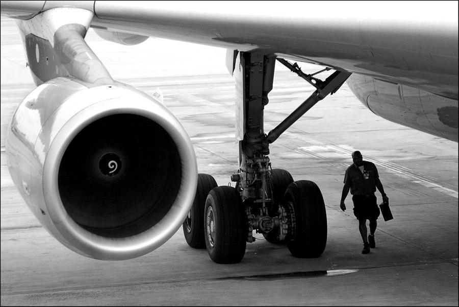 Airport Alltag ....