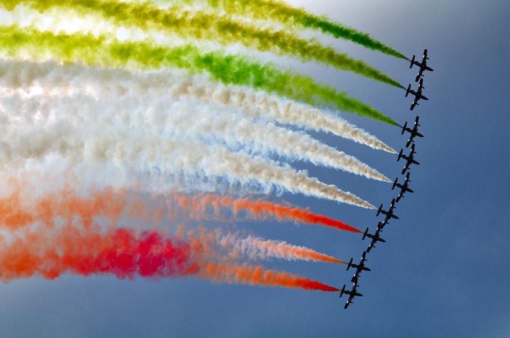 Airpower 2011 - Frecce Tricolori