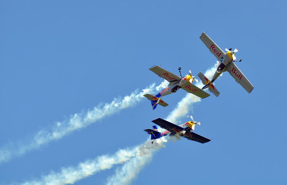 Airpower 2011 - Red Bull Aerobatics Team