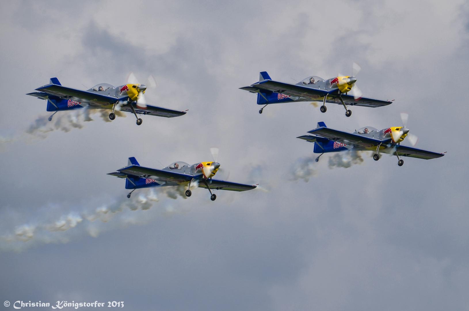 Airpower 2013 - Flying Bulls Aerobatics Team