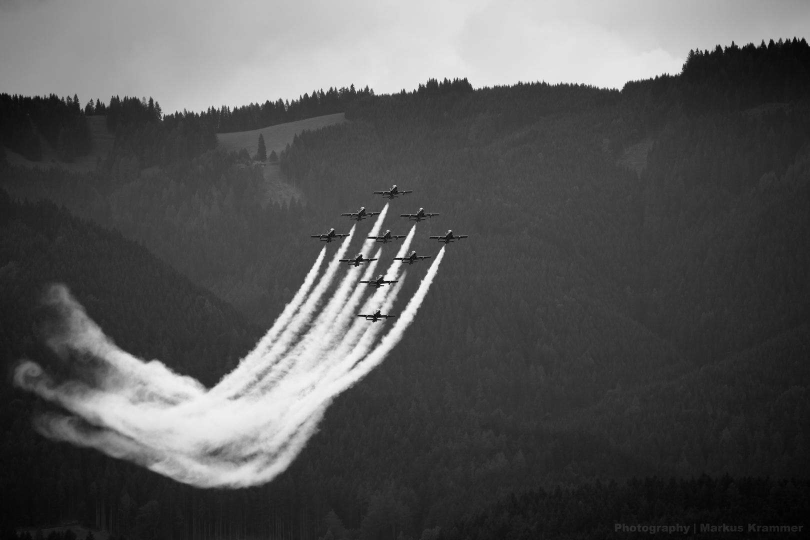Airpower 2013 - Frecce Tricolori - unbunt