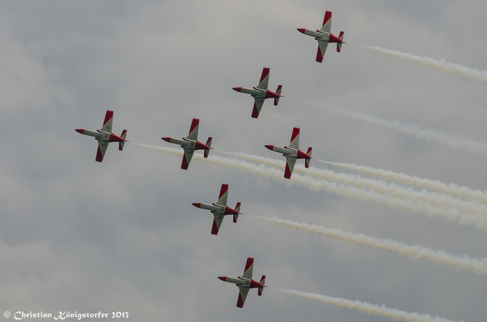 Airpower 2013 - Patrulla Águila