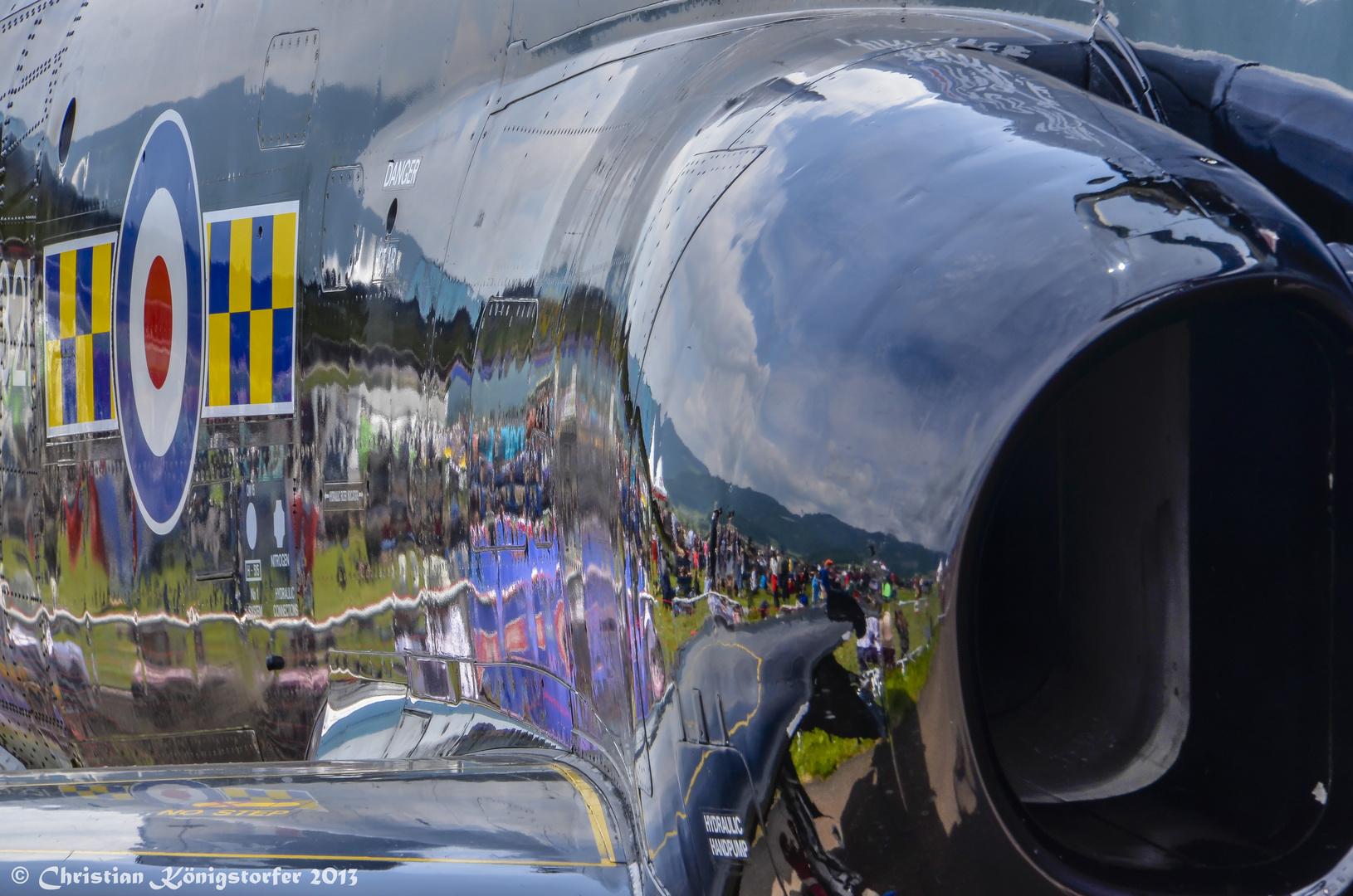 Airpower 2013 - Spiegelungen