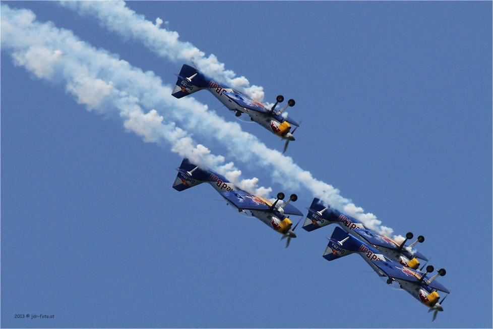 AirPower 2013 Zeltweg - Flying Bulls