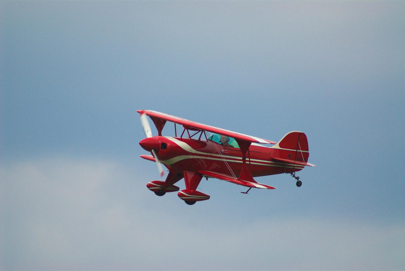 Airshow 2013 Krefeld: Kunstflieger Pitt S1