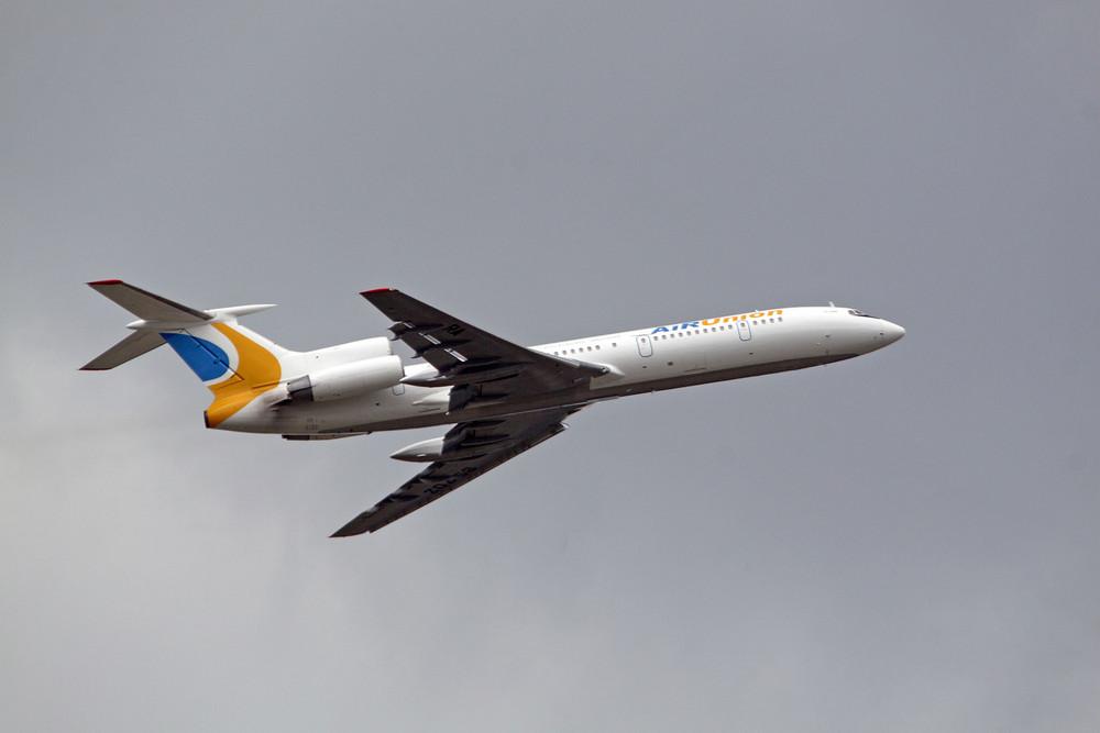 AirUnion (Kras Air) Tupolev TU-154M (RA-85702) - 02