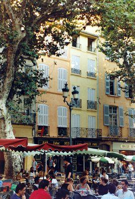 Aix-en-Provence, le Cours Mirabeau
