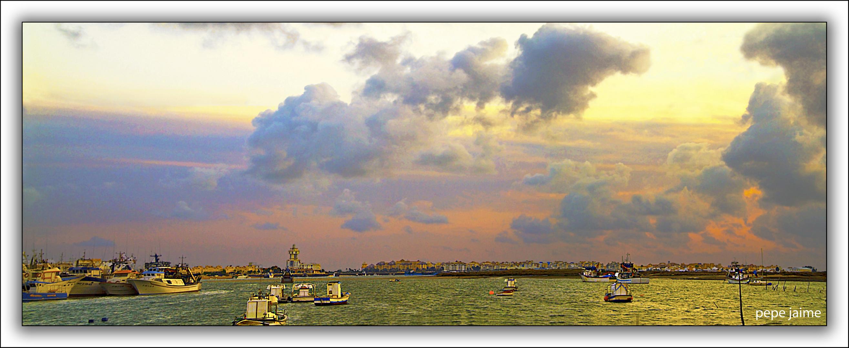 Ajetreo en el puerto