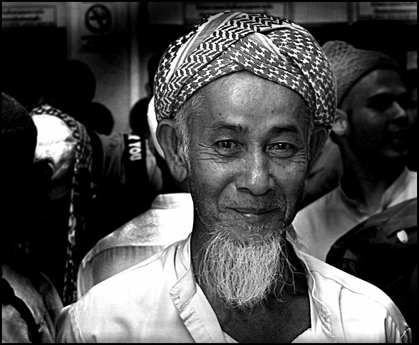 Akbar, he looks so peaceful..............I met him 5 days before 9/11 in Hualampong Station, Bangkok