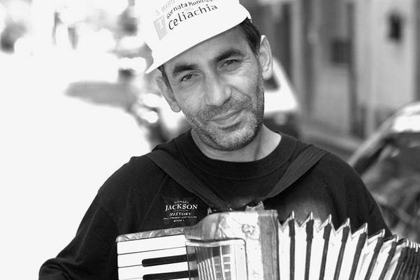 Akkordeonspieler auf Sizilien