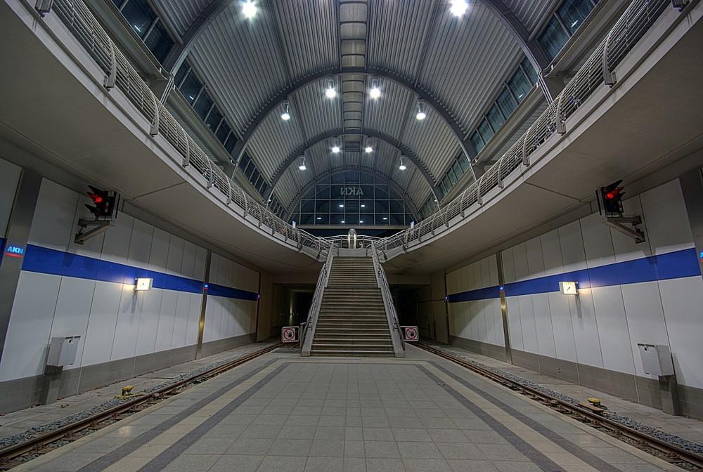 AKN Bahnhof in Kaltenkirchen