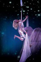 Akrobatik in blond