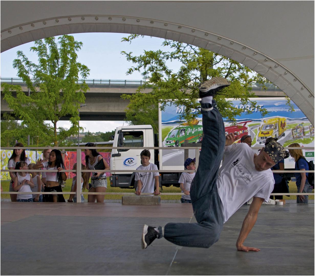 Akrobatik pur