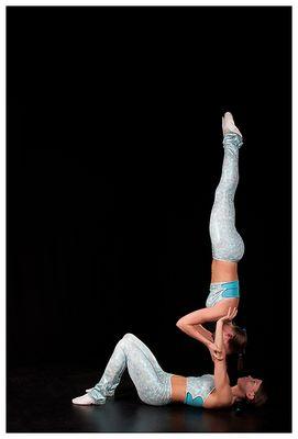 Akrobatik-Zwillinge