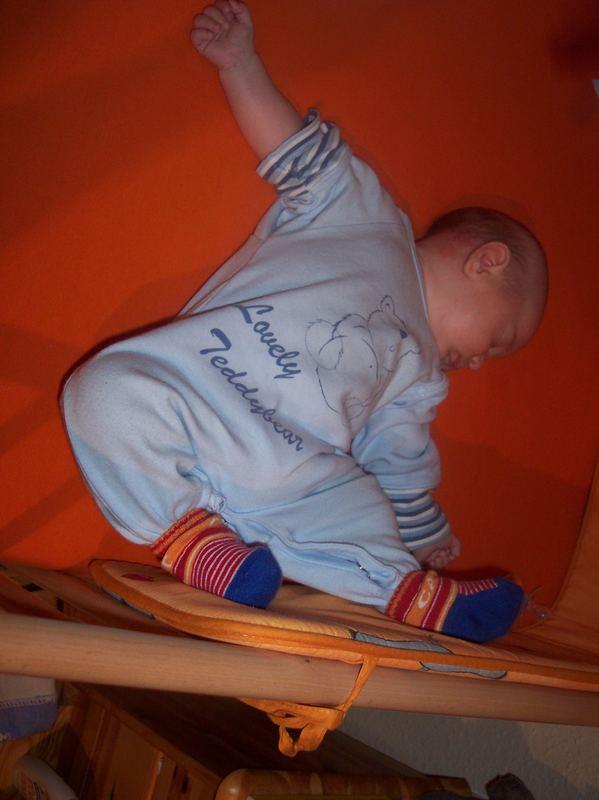 Akrobatische Höchstleistung