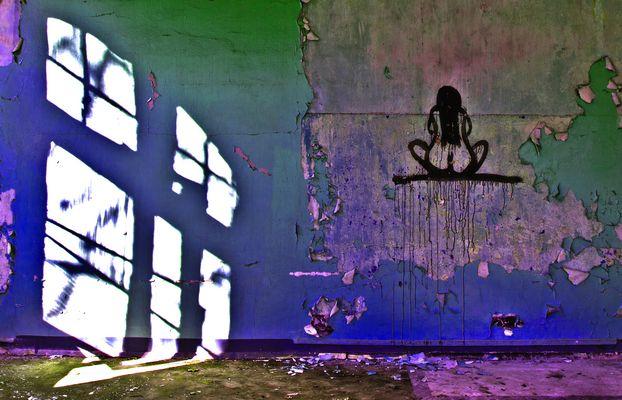 Akt am Fenster - Beelitz-Heilstätten