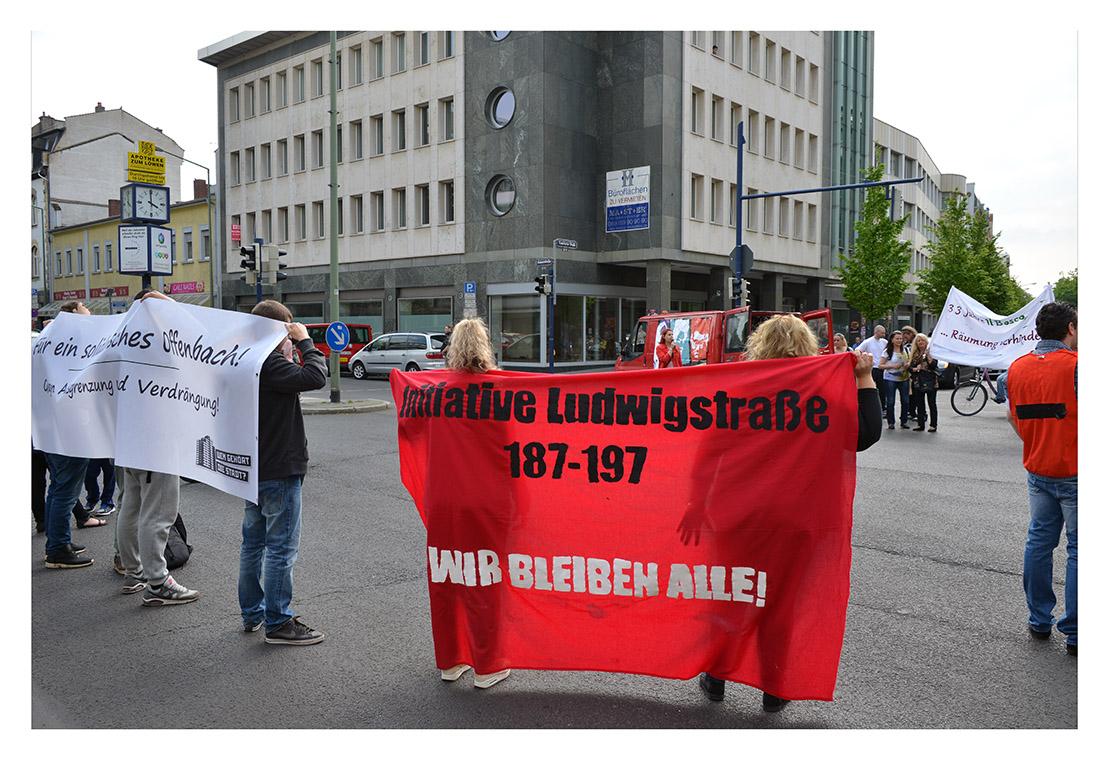 Aktion: Wem gehört die Stadt - gegen Verdrängung und Mietspekulation!