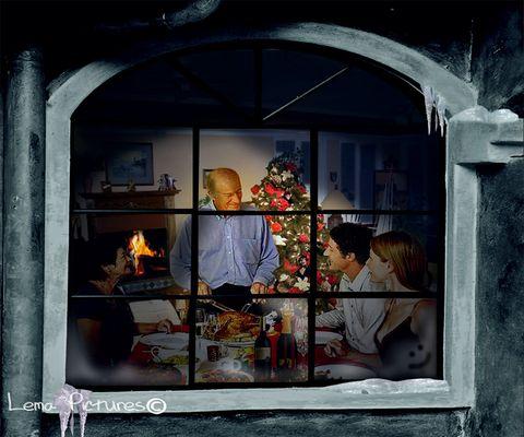 Al calor de la familia en Navidad