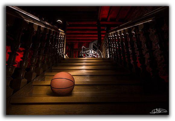 Al final de la escalera
