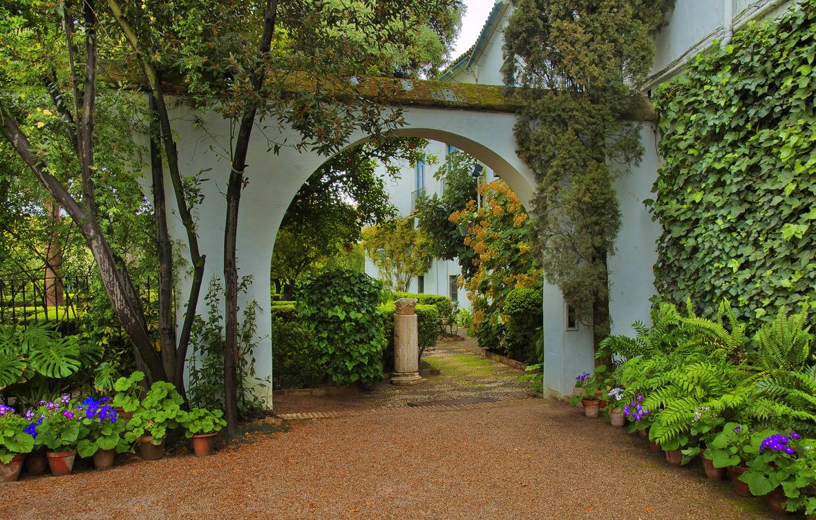 Al fondo el jard n imagen foto ciudades patios for El jardin de calula