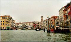 Al Grande Canale...Ponte di Rialto.