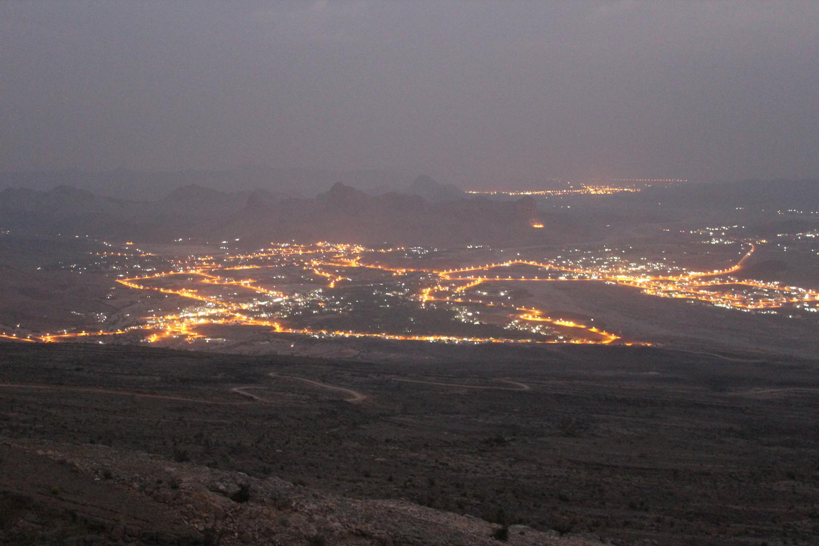Al Harmra bei Nacht