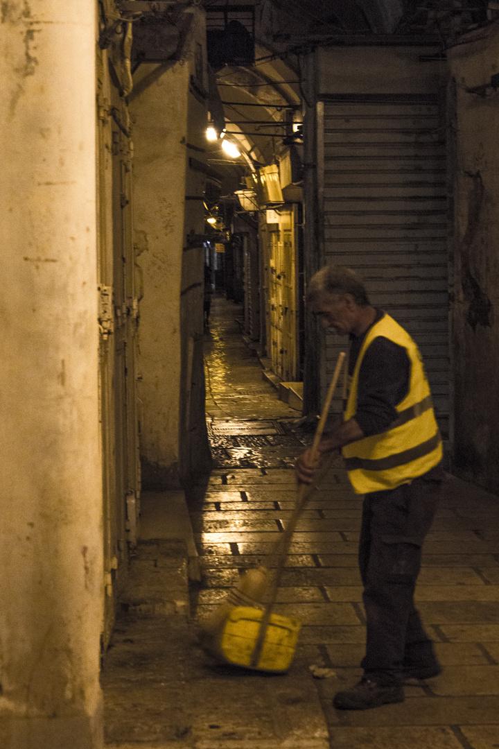 al-Quds bei Nacht (aufräumen)