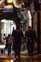 al-Quds bei Nacht (spielende Kinder)