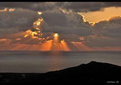 ...al tramonto...