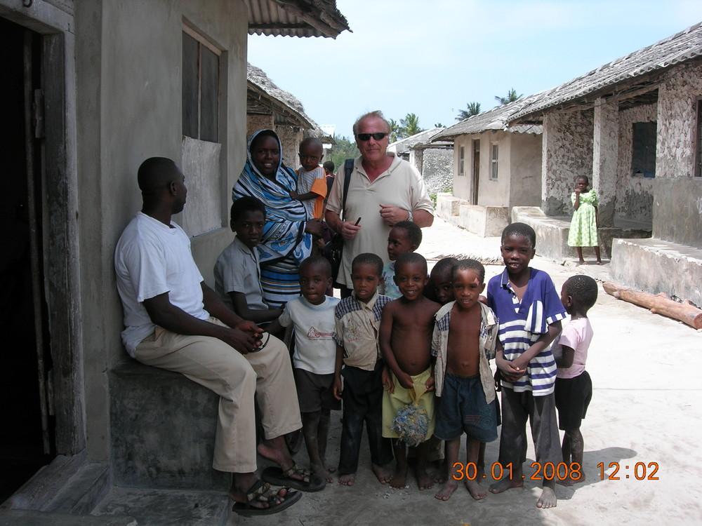 Al villaggio di Urea - Zanzibar
