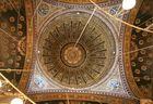 Alabastermoschee: Blick in die Kuppel