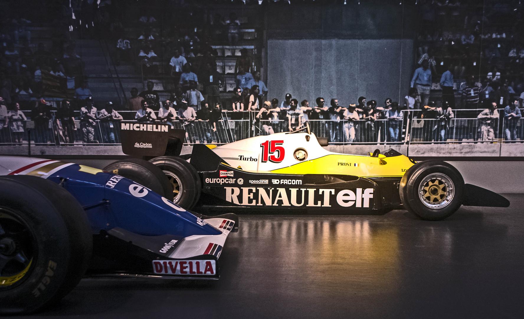 Alain Prost Formula 1 Racecar