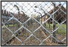 Alambrada del campo de concentración de Auschwitz