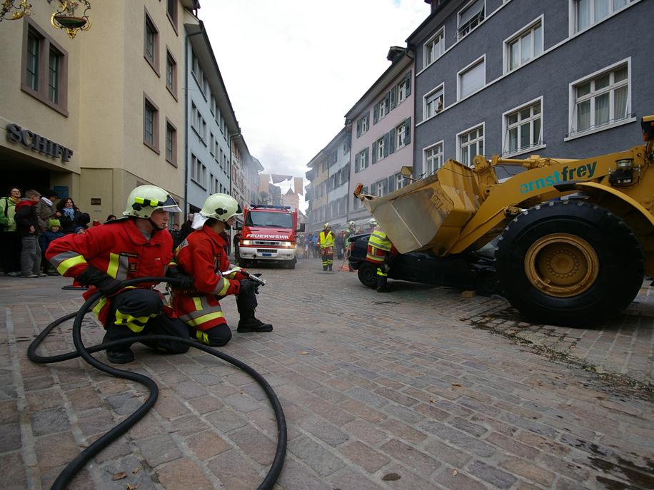Alarm in Rheinfelden!