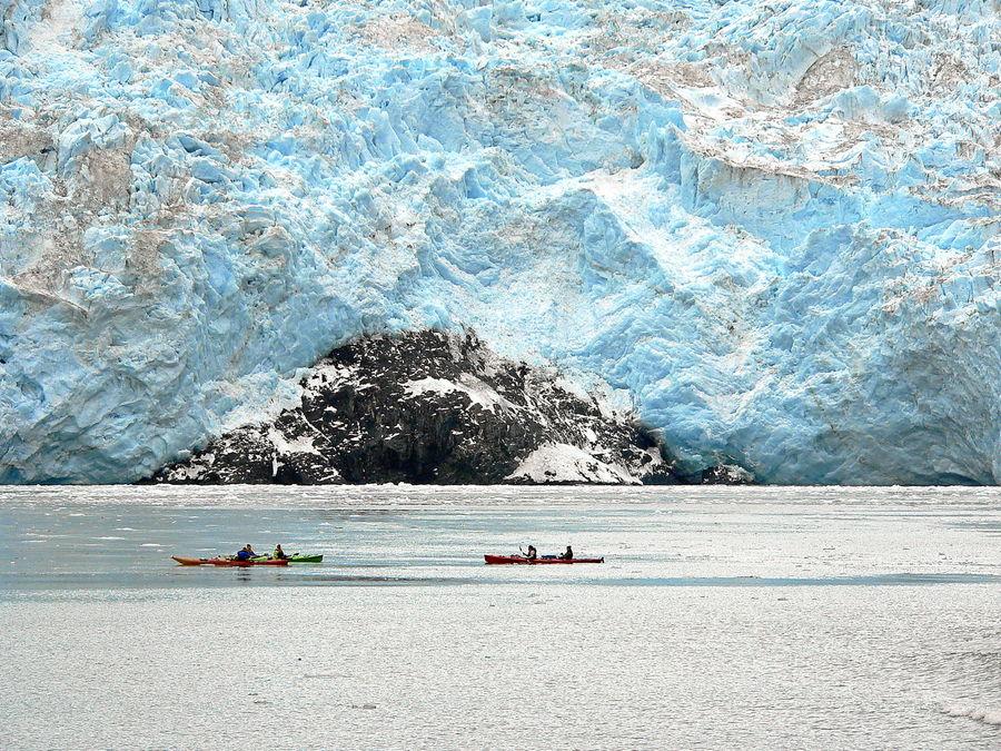 Alaska - Aialik Gletscher im Kenai Fjords National Park