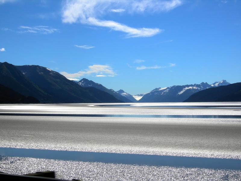 Alaska, Turnagain Arm, bei Anchorage