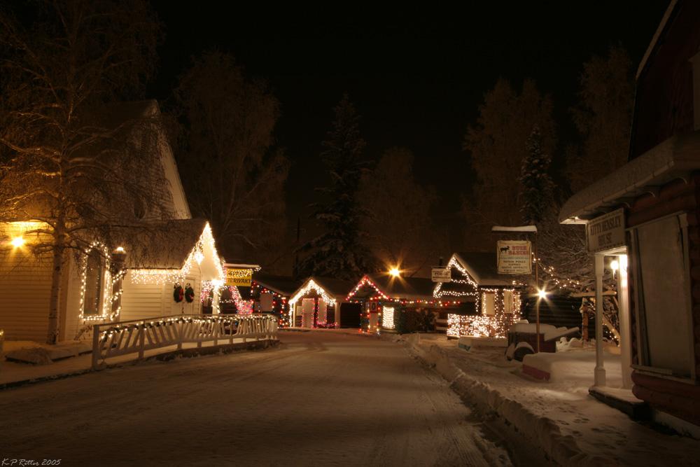 Alaska Winternacht 1