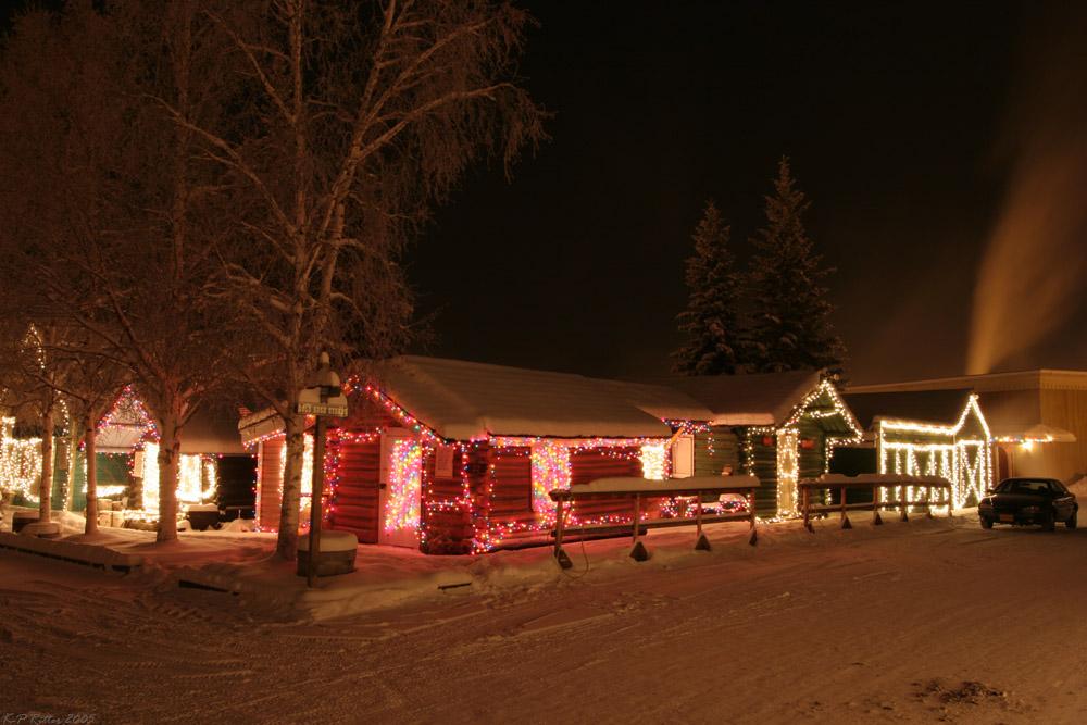Alaska Winternacht 2