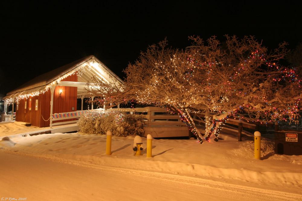 Alaska Winternacht 3