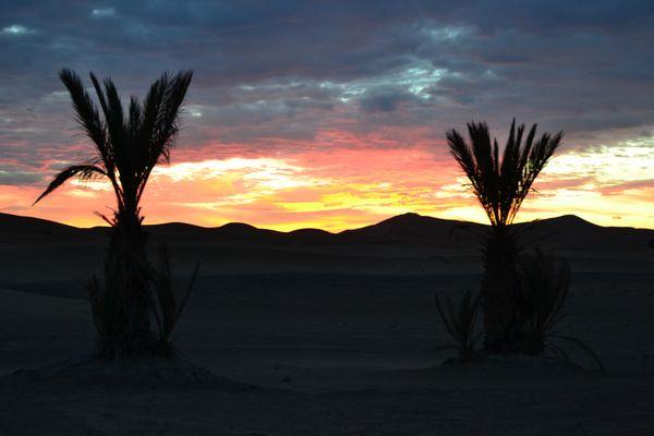 Alba a Ouarzazate
