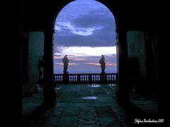 alba da palazzo Terzi . . .
