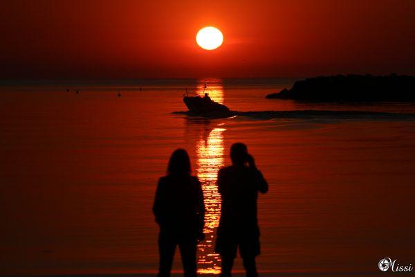 ... alba dal Mare....