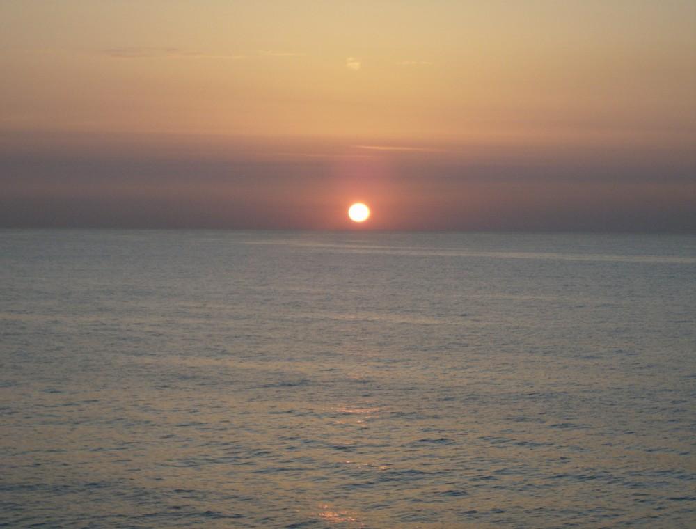 Alba dal traghetto