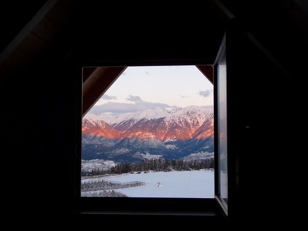 alba dalla finestra