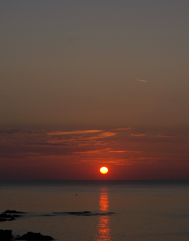 alba in Costa azzurra